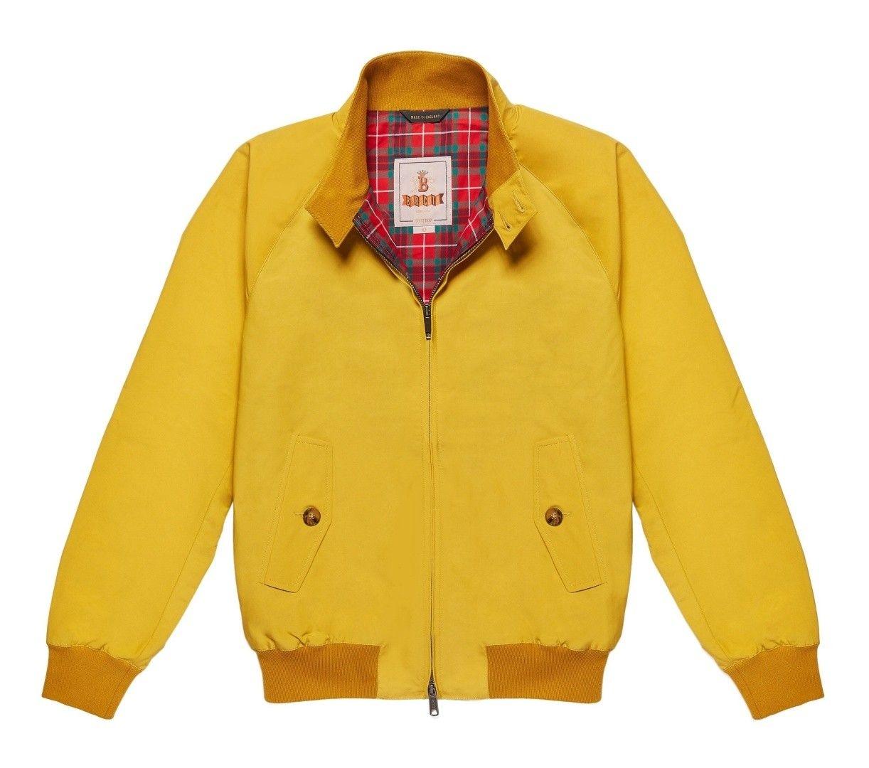 BARACUTA - Herren Jacke - G9 Modern Classic Blouson - Empire Yellow