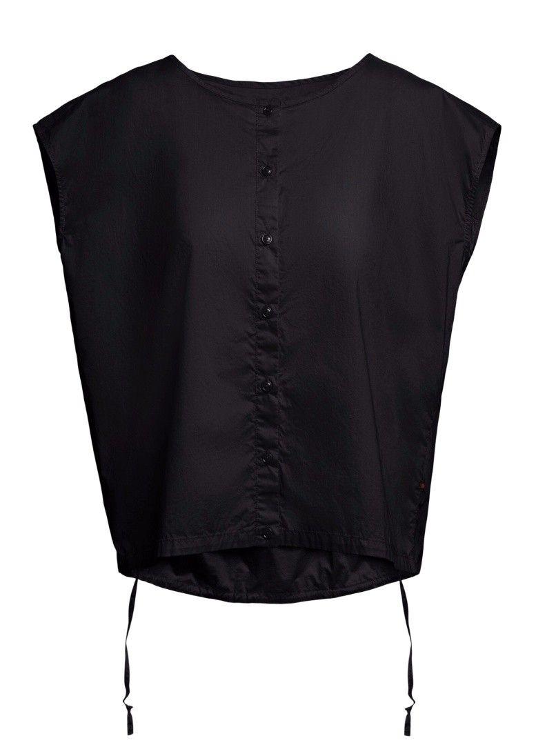 WOOLRICH - Damen Bluse - W'S Popeline Blouse - Black