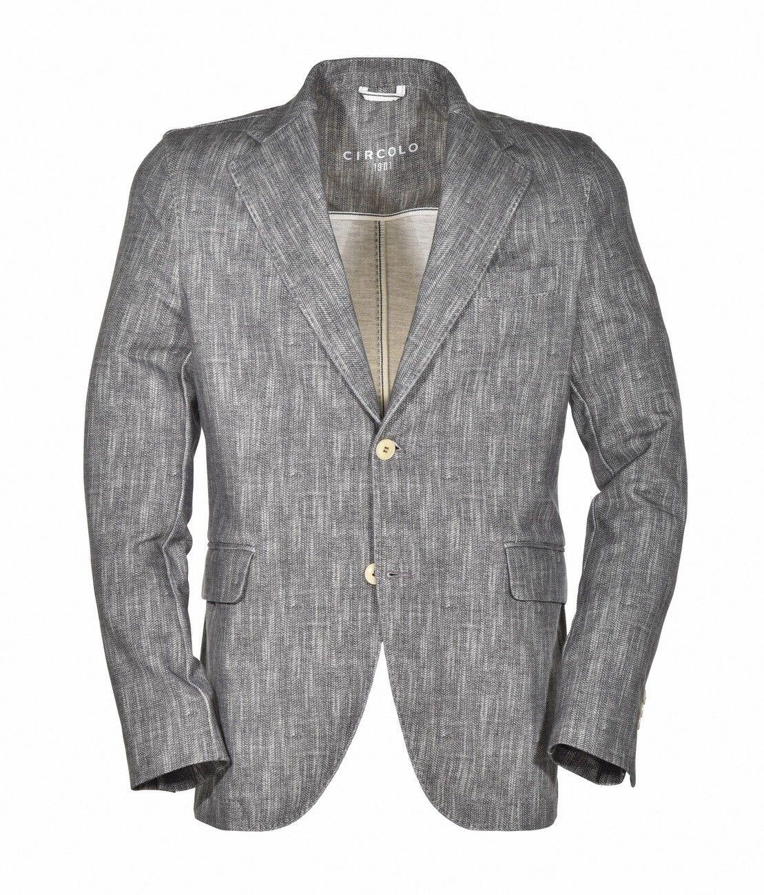 CIRCOLO 1901 - Herren Sakko - Men's Jacket - Fischgrat