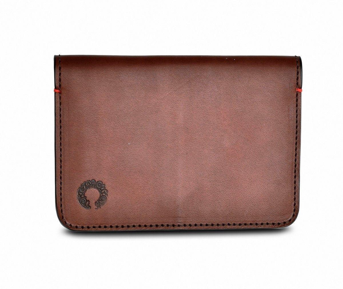 Croots - Leder Passport Holder - Vintage Leather - Port