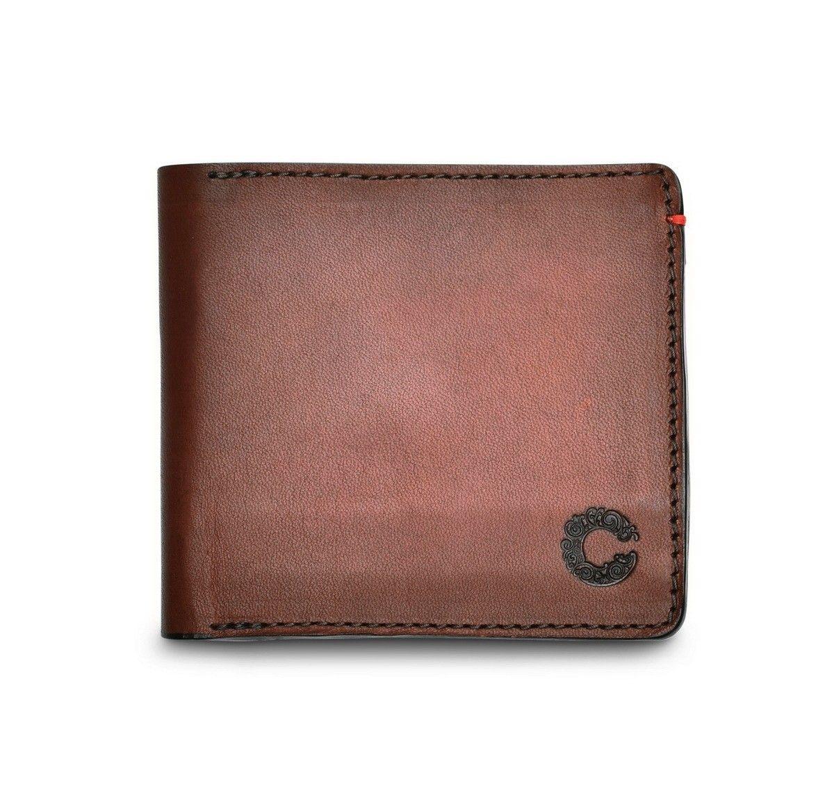 Croots - Leder Geldbörse - Vintage Leather - Port