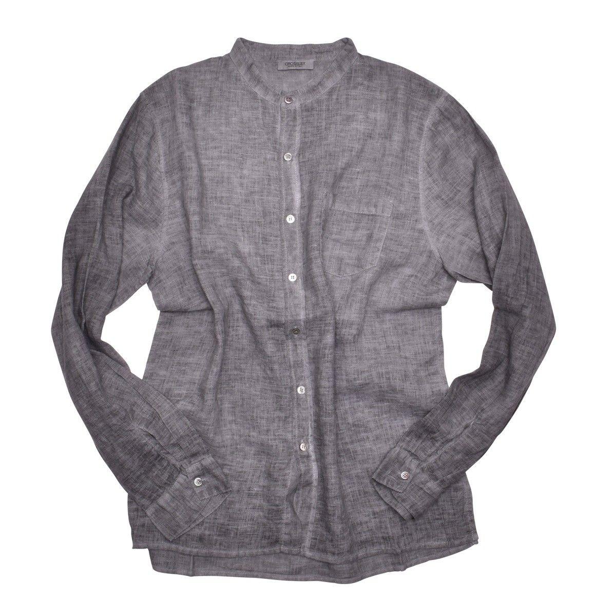 CROSSLEY - Herren Hemd - Mens LS Shirt - grey -