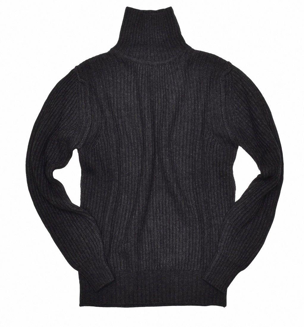 CROSSLEY - Herren Pullover - Rollkragen Palet - Dark Grey