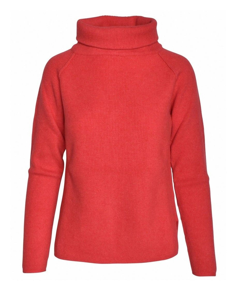 CROSSLEY - Damen Pullover - Ladies LS Raglan Turtleneck - Arag