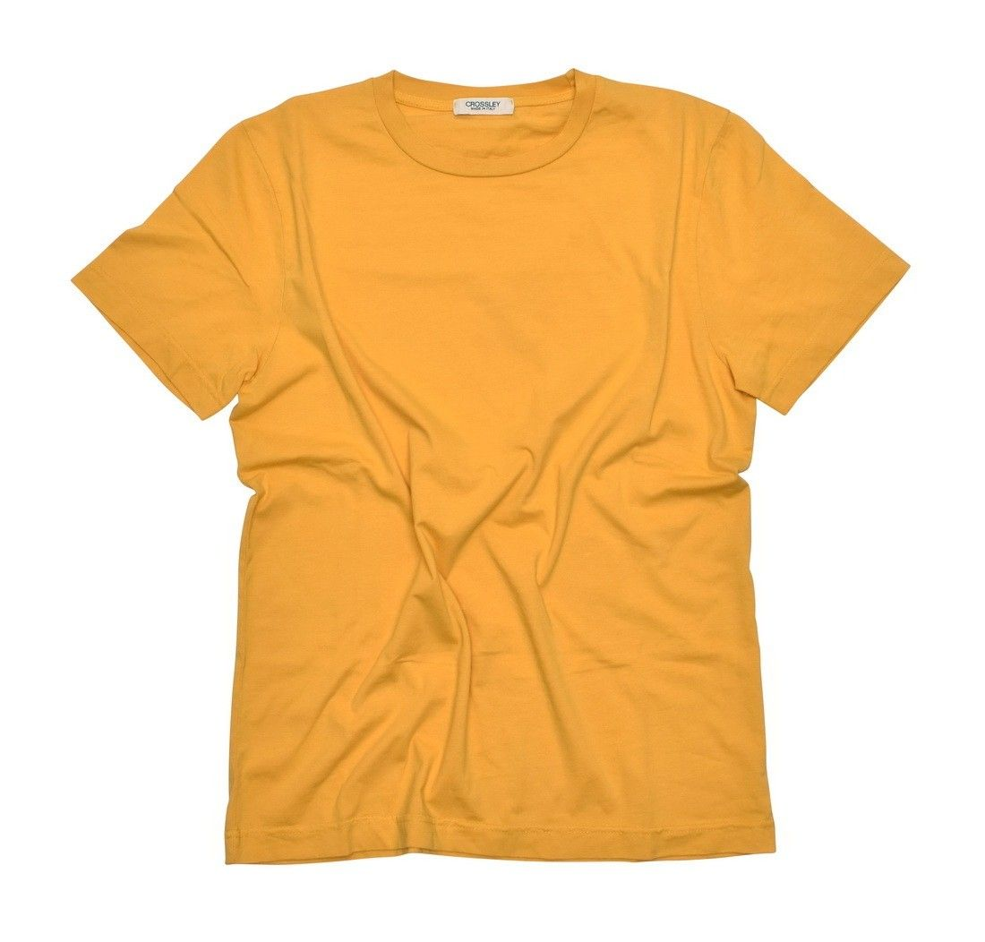 CROSSLEY - Herren T-Shirt - Man SS T-Shirt - Yellow