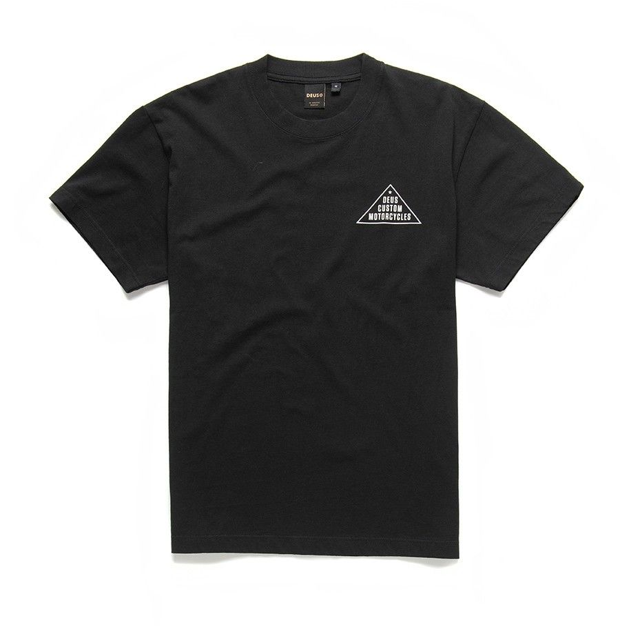 DEUS EX MACHINA - Herren T-Shirt - Roza Tee - Black