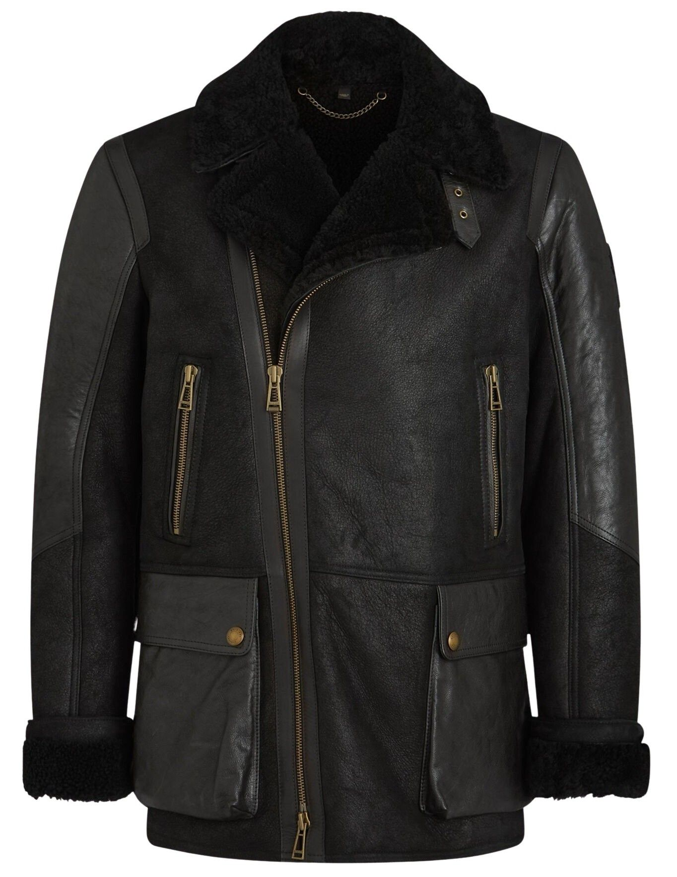 BELSTAFF - Herren Jacke - Dennison Jacket - Black/Black