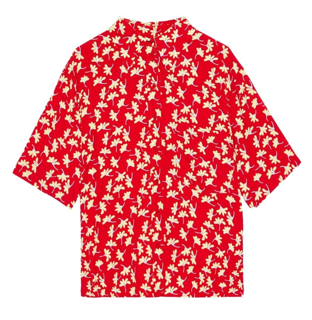 OTTOD´AME - Damen Bluse - Camicia - Rosso