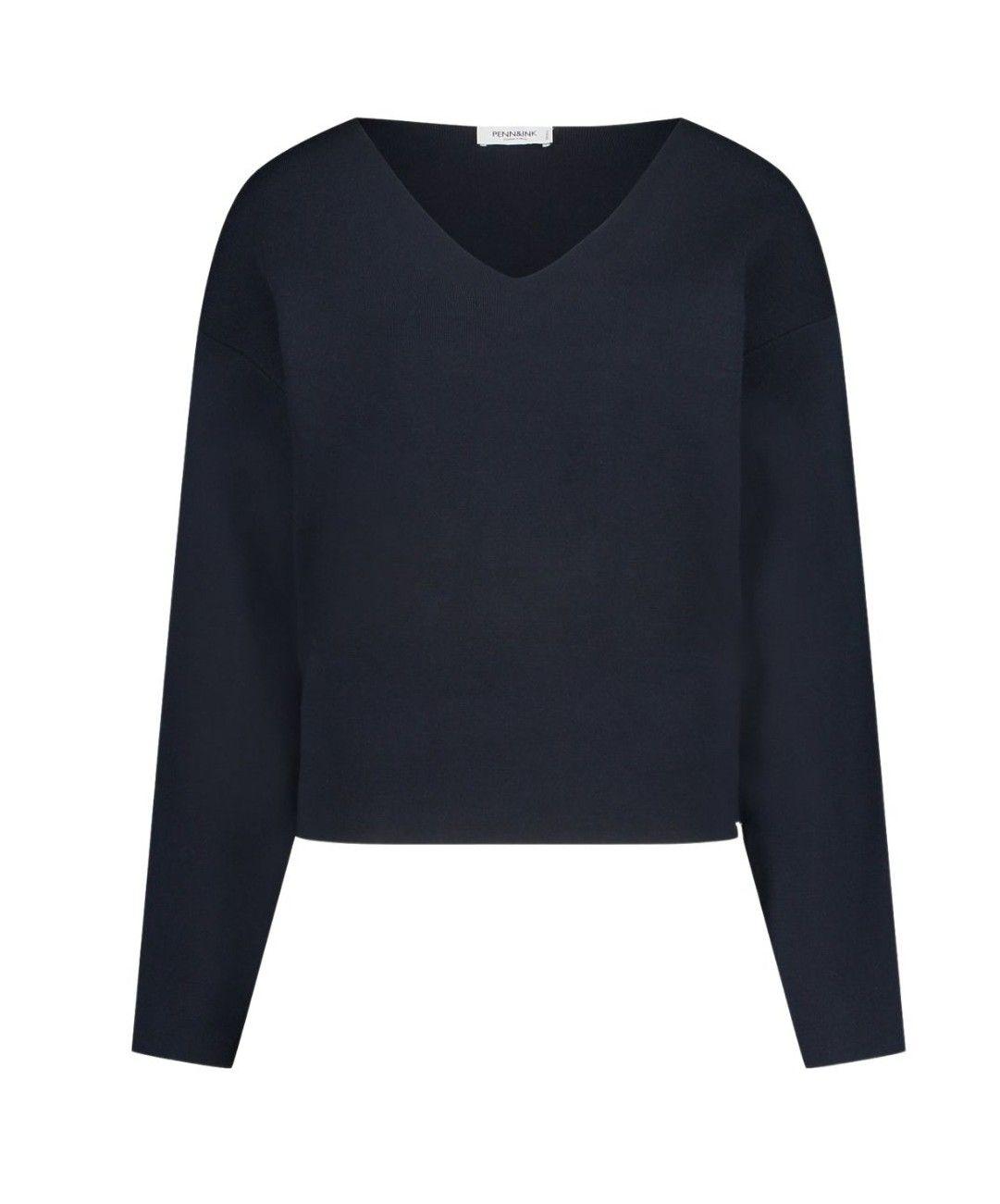 PENN&INK - Damen Pullover - Navy