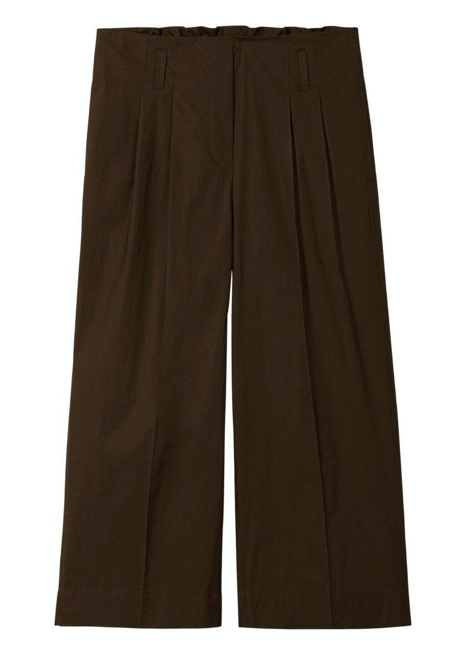LUISA CERANO - Damen Hose - Paperbag Pants Mocca