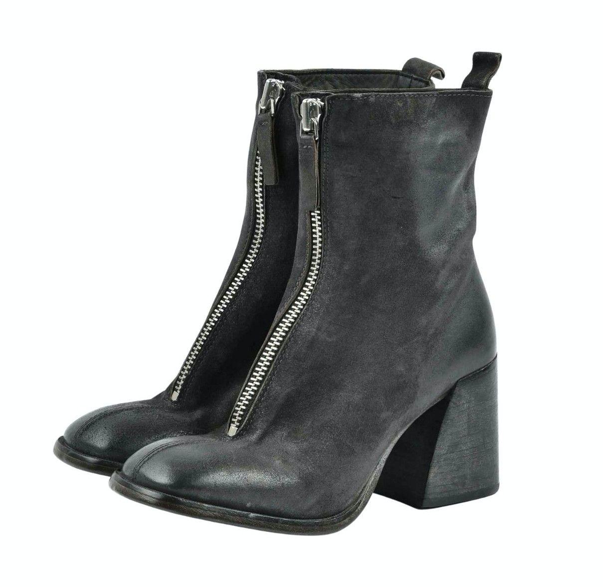 MOMA - Damen Stiefelette - Tronchetto Donna Oliver XL 661 - Asfalto