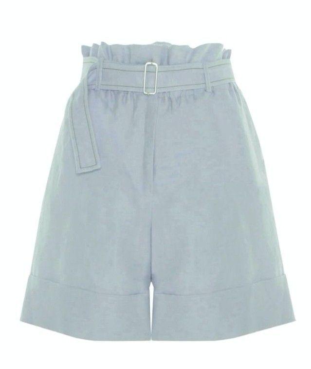 BEATRICE B - Damen Shorts - Bermuda Tessuto - Azzurro
