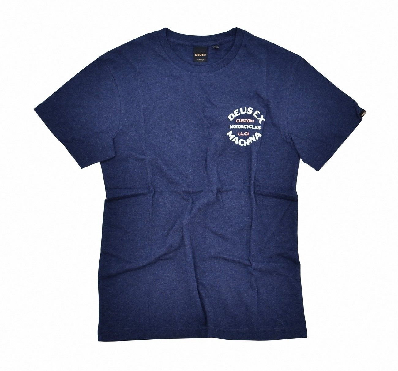 DEUS EX MACHINA - T-Shirt - Apple Tee - Navy Marle