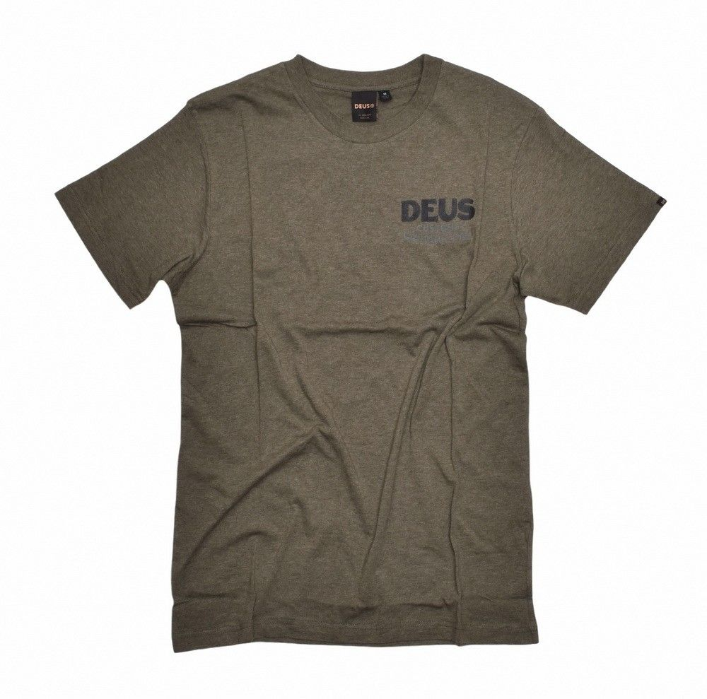 DEUS EX MACHINA - Herren T-Shirt - Jungle Tee - Leaf Marle