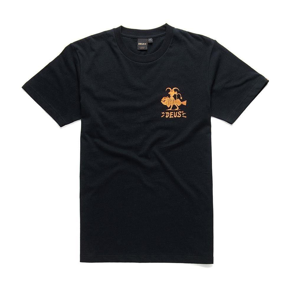 DEUS EX MACHINA - Herren T-Shirt - Devil Canggu Tee - Black