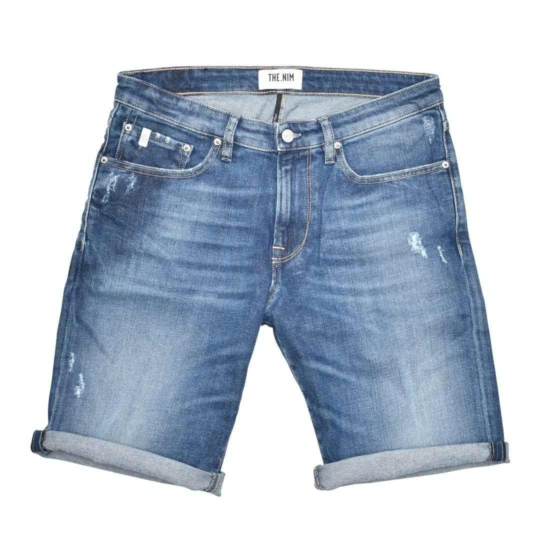 THE.NIM - Herren Shorts - Denim 902 Short - Medium Dark