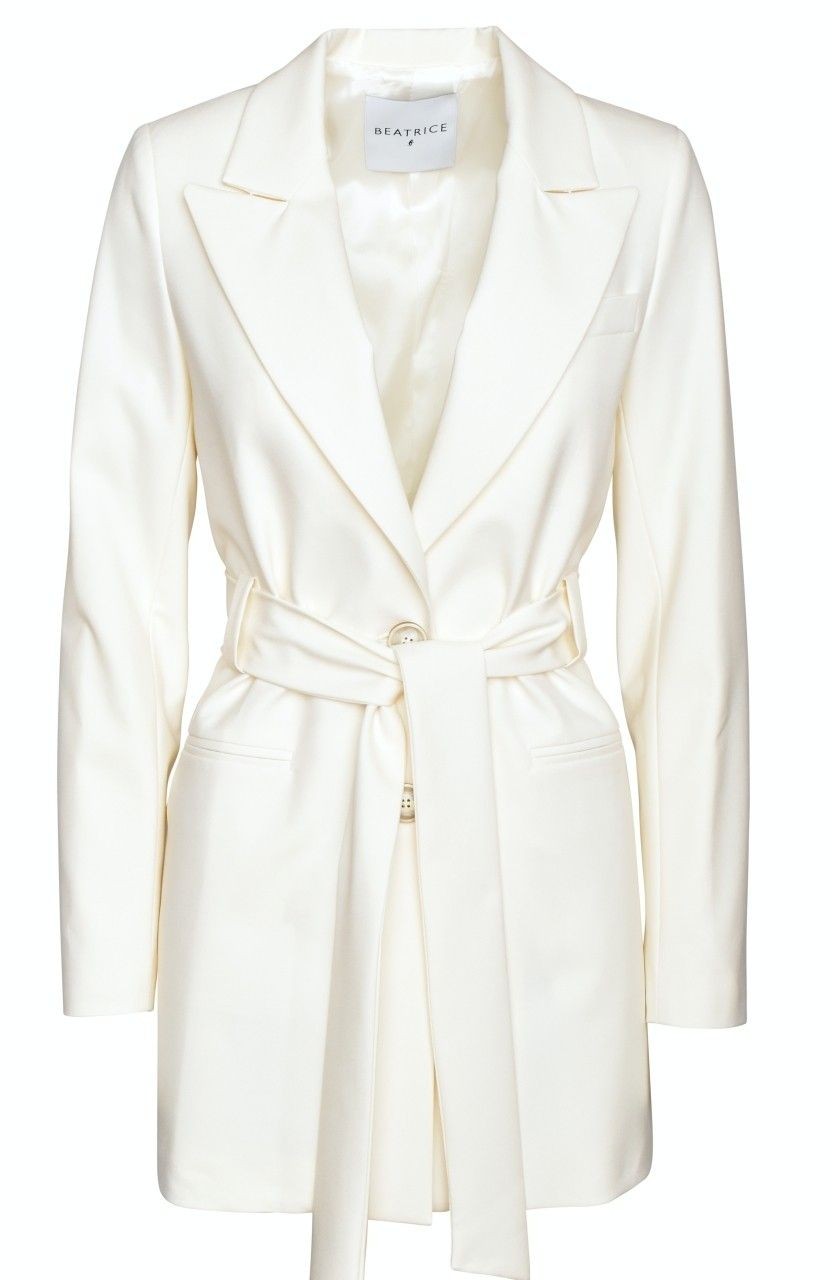 BEATRICE.B - Damen Kimono Blazer - Vaniglia