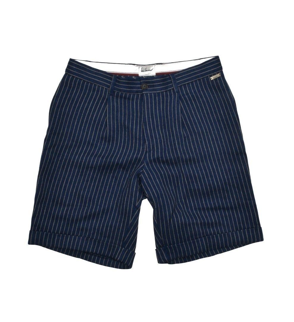 LUIS TRENKER - Herren Shorts - Bartl Fabric Mix - Dunkelblau