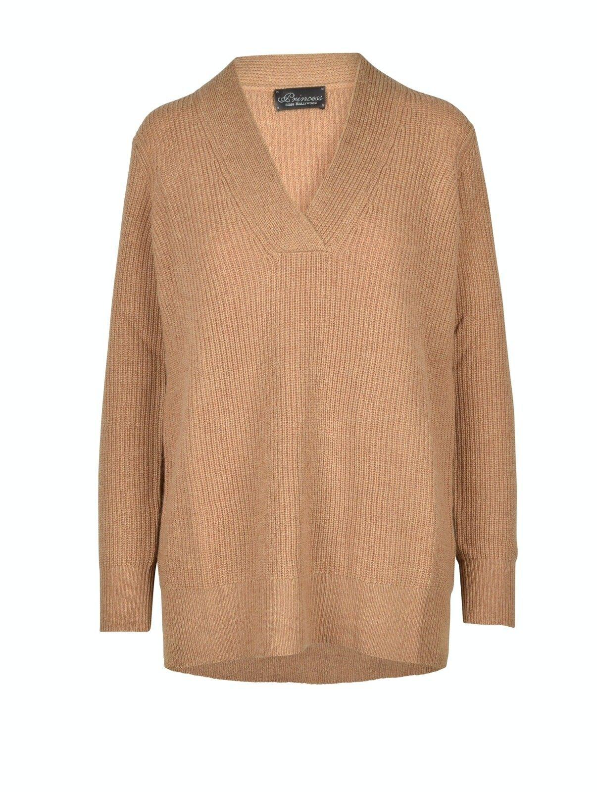 PRINCESS - Damen Long Pullover Basic - Macaroon