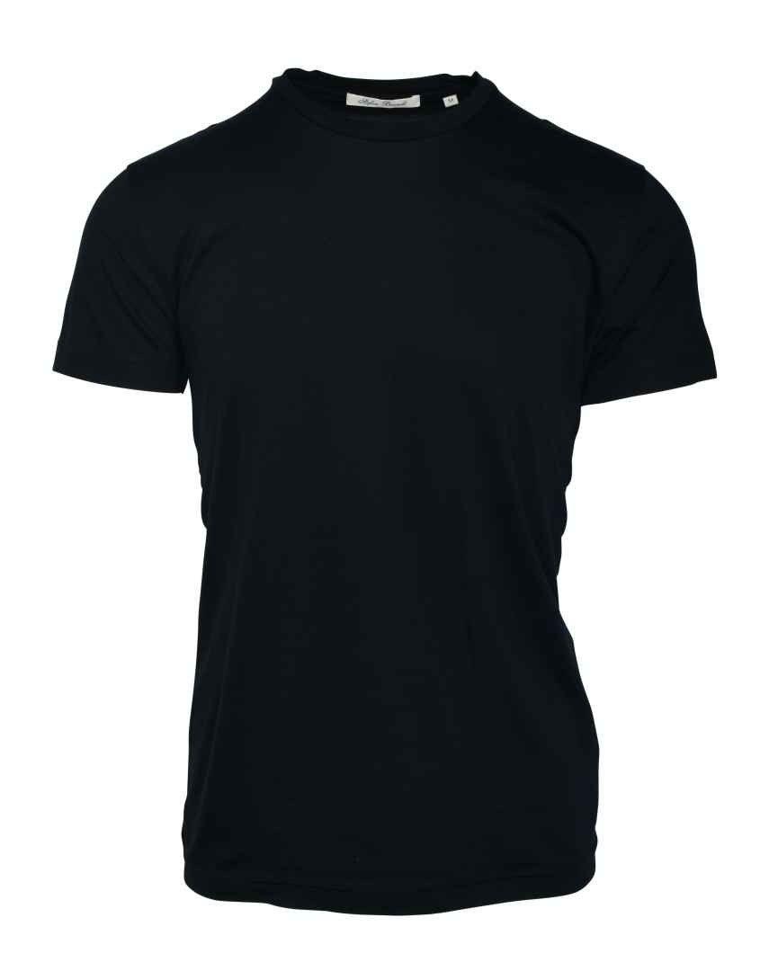 STEFAN BRANDT - Herren T-Shirt - Round Neck Enno 50 - Marino