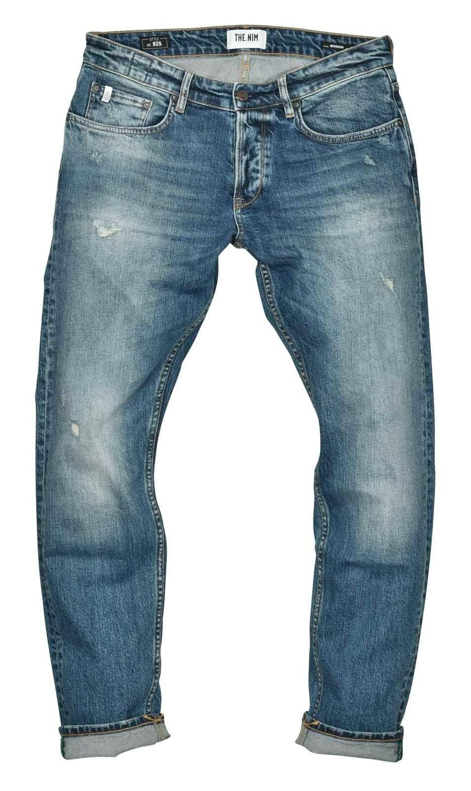 THE.NIM - Herren Jeans - Morrison Man Jeans Tapered Fit - Special Destroyed