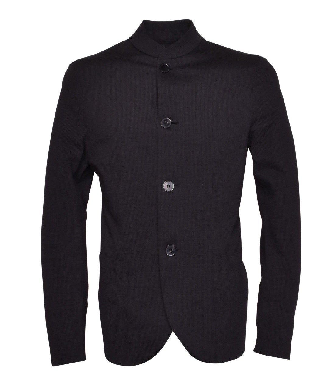 HARRIS WHARF LONDON - Herren Sakko - Nehru Jacket - Black
