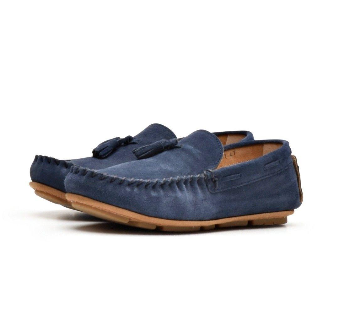 BAZAR ROYAL - Herren Schuhe - Tassel U - Venice Winter - Blau