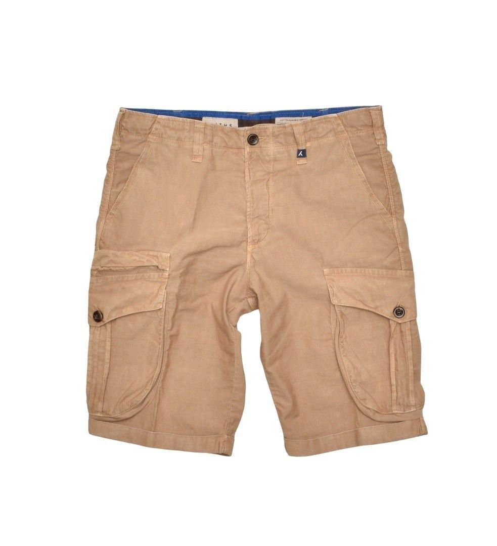 MYTHS - Herren Hose - Bermuda Pants - Camel