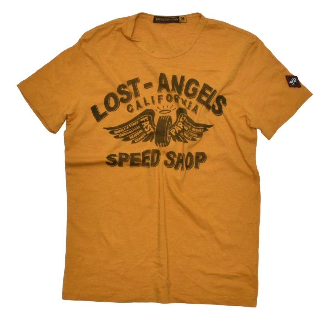 JOHNSON MOTORS - Herren T-Shirt - Lost Angels - Yellow Sand