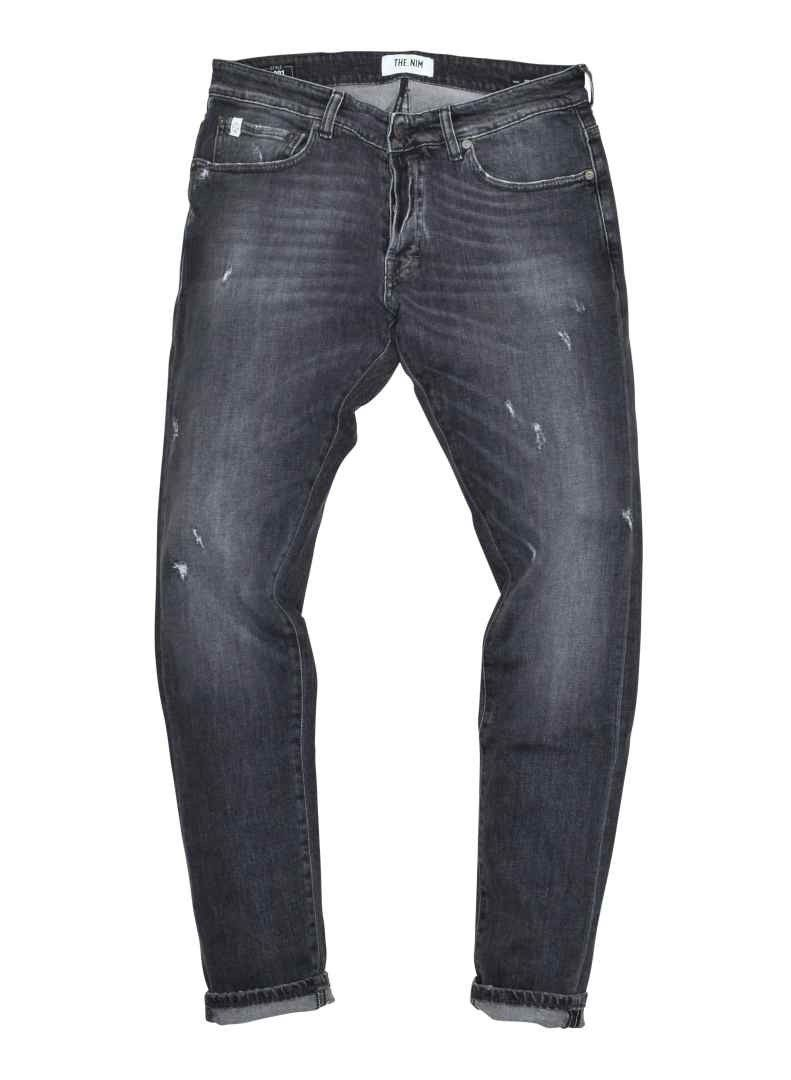 THE.NIM - Herren Jeans - Dylan Man Jeans - Slim Fit - Grey