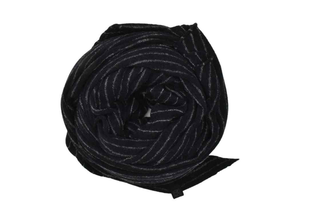 NEBO - Schal - Black/Grigio