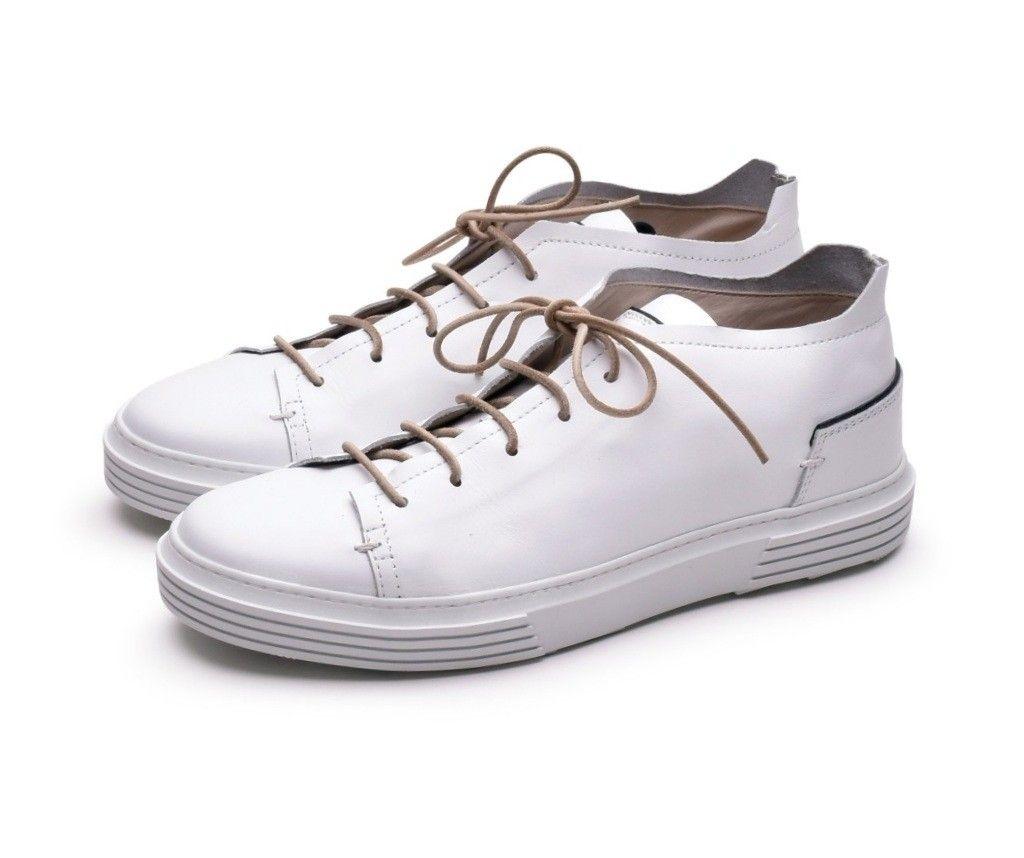 MOMA - Herren Sneaker - Allacciata Nausica - Bianco