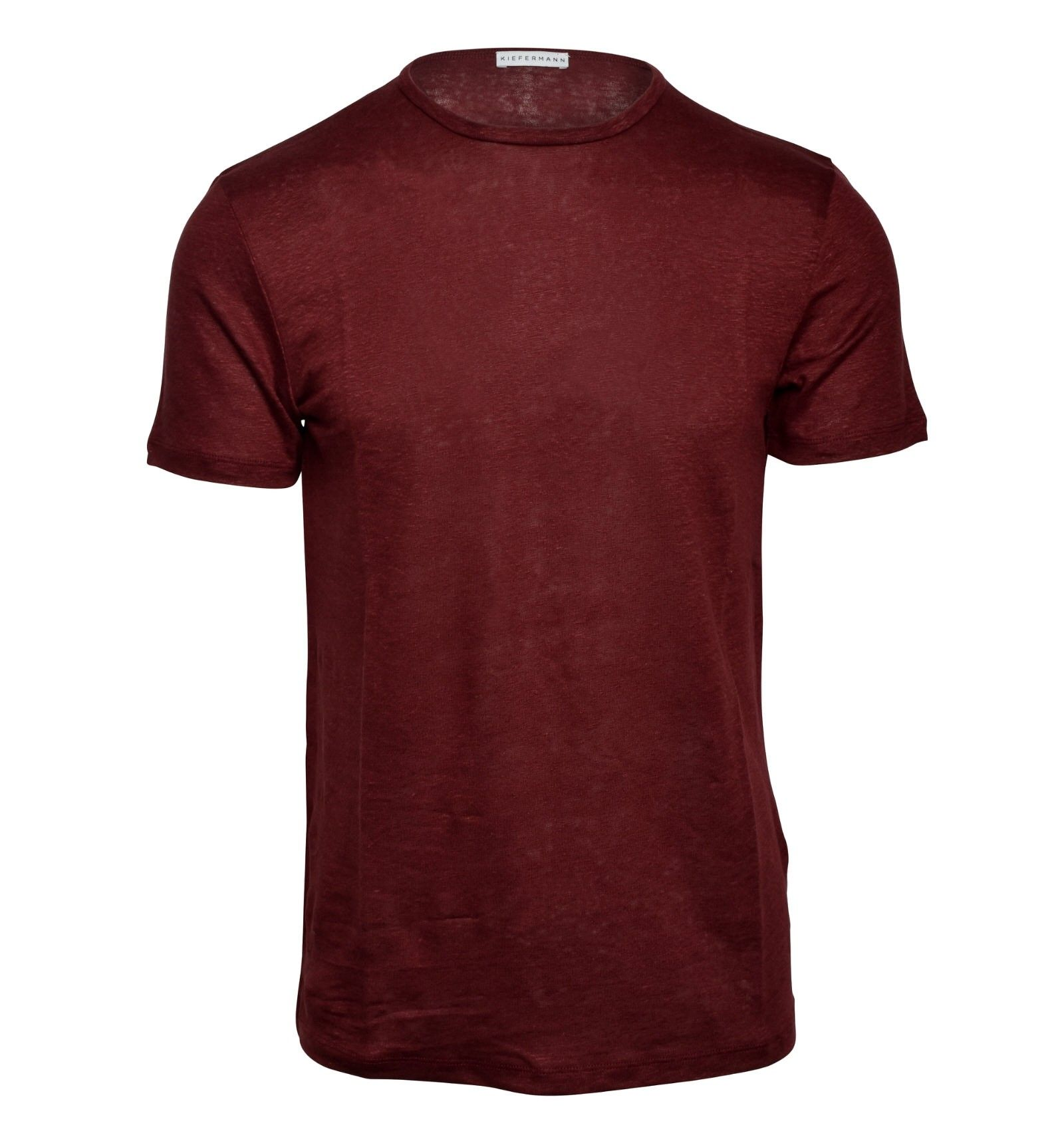 KIEFERMANN - Herren T-Shirt - Laine - Brick