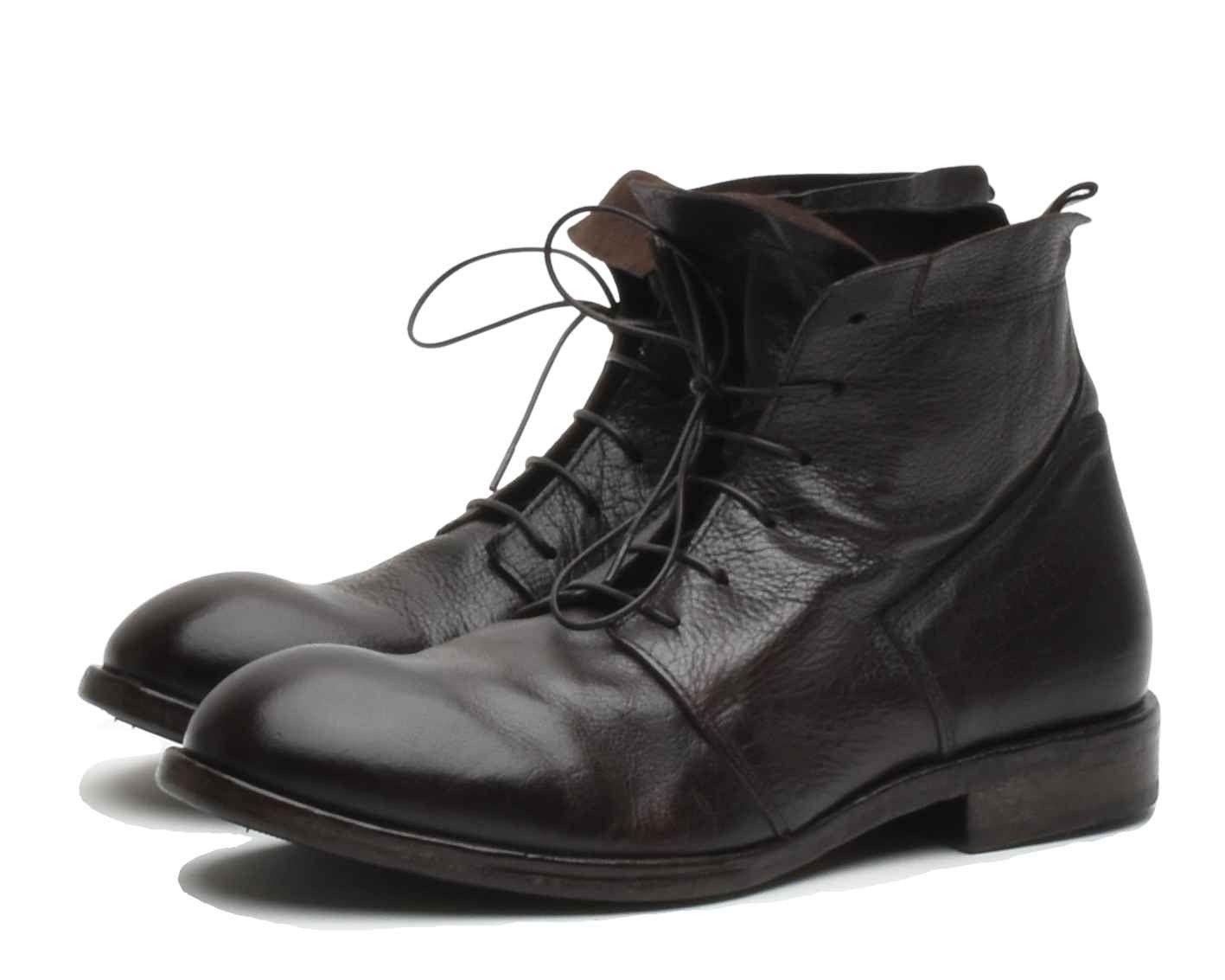 MOMA - Herren Schuhe - Polacco Uomo Bufalo - Dunkelbraun