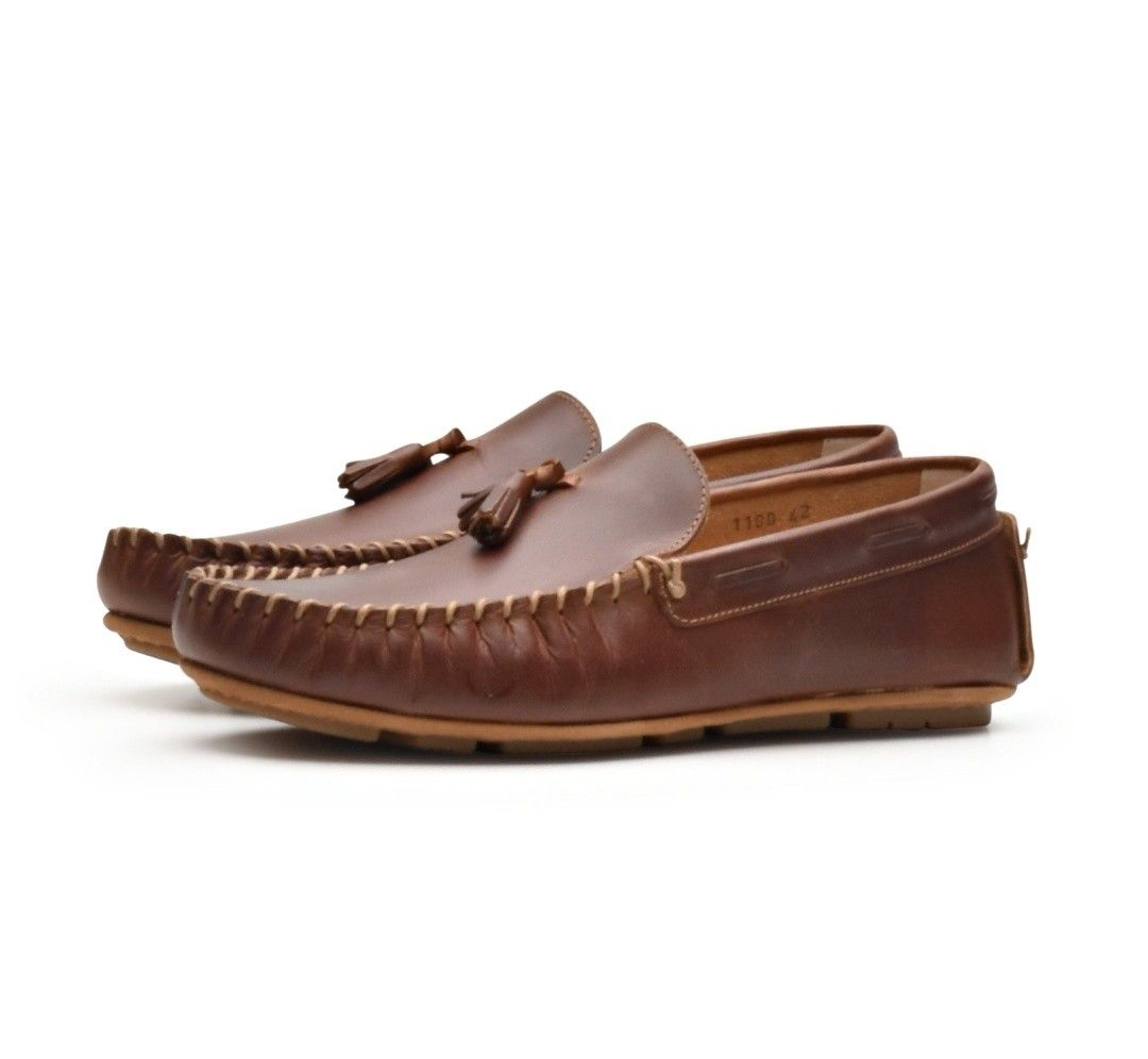 BAZAR ROYAL - Herren Schuhe - Tassel U - Cavallo Natural - Braun