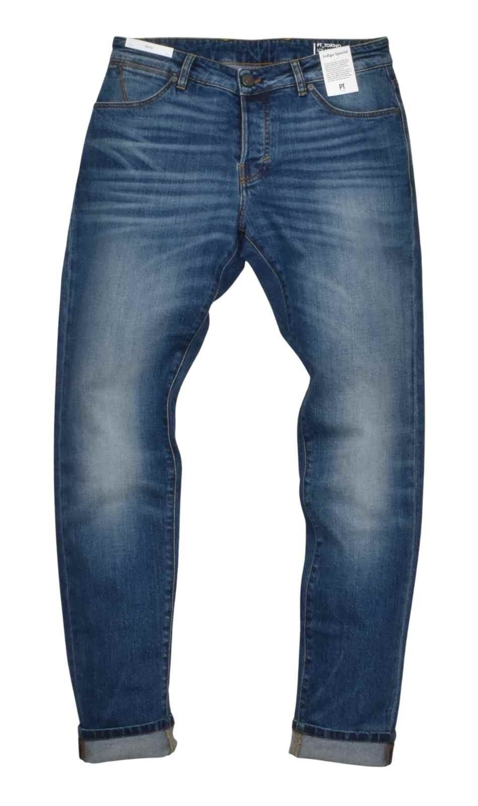 PT TORINO - Herren Hosen - Denim Indigo Soul - Washed Blue