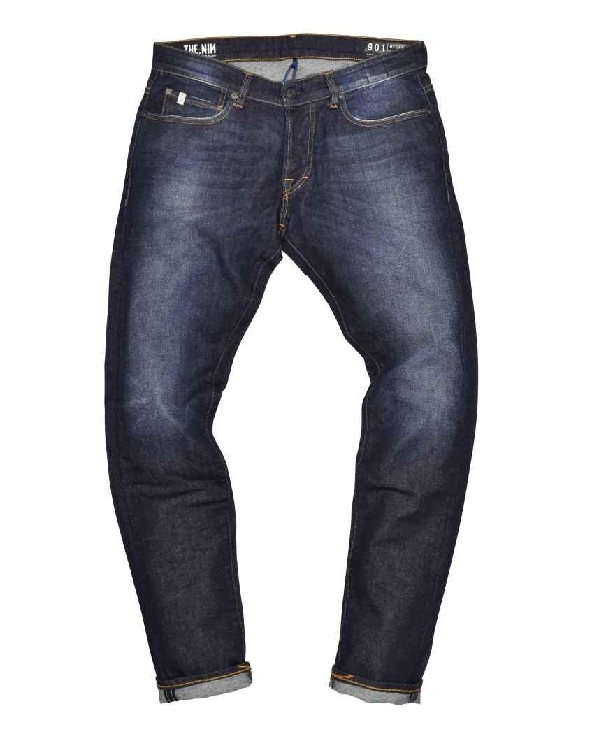 THE.NIM - Herren Jeans - Dylan Man Jeans Slim Fit - Dark Blue