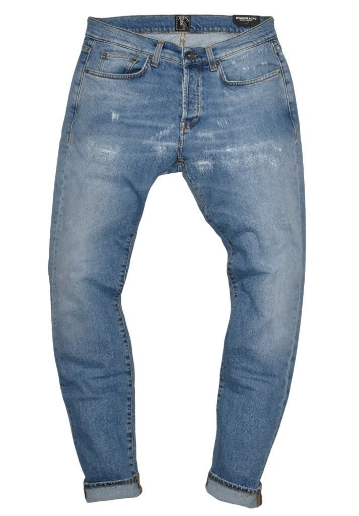PRPS - Herren Jeans - Windsor Long Light Wash - Blue