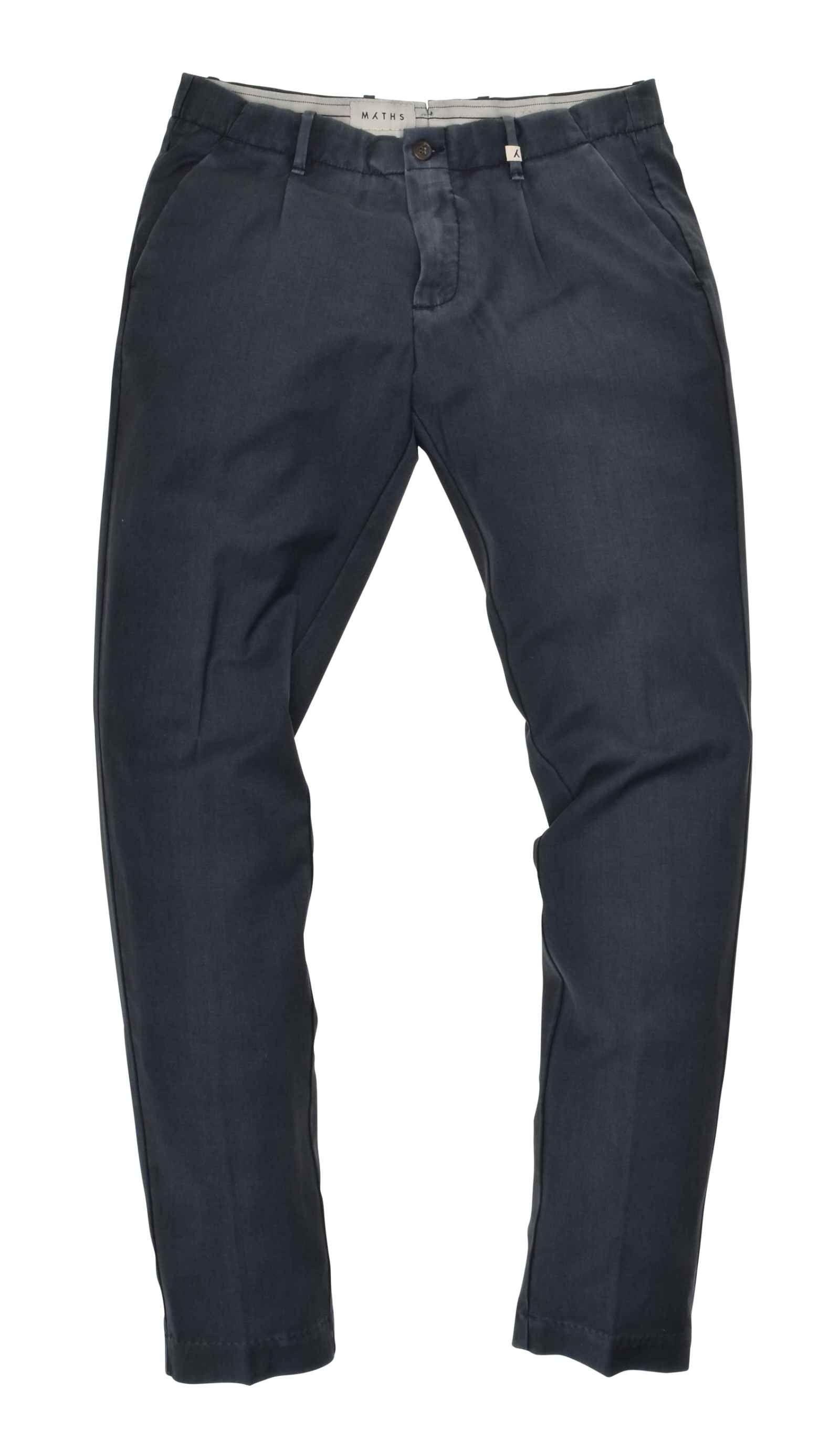 MYTHS - Herren Hose - Long Trousers - Blu