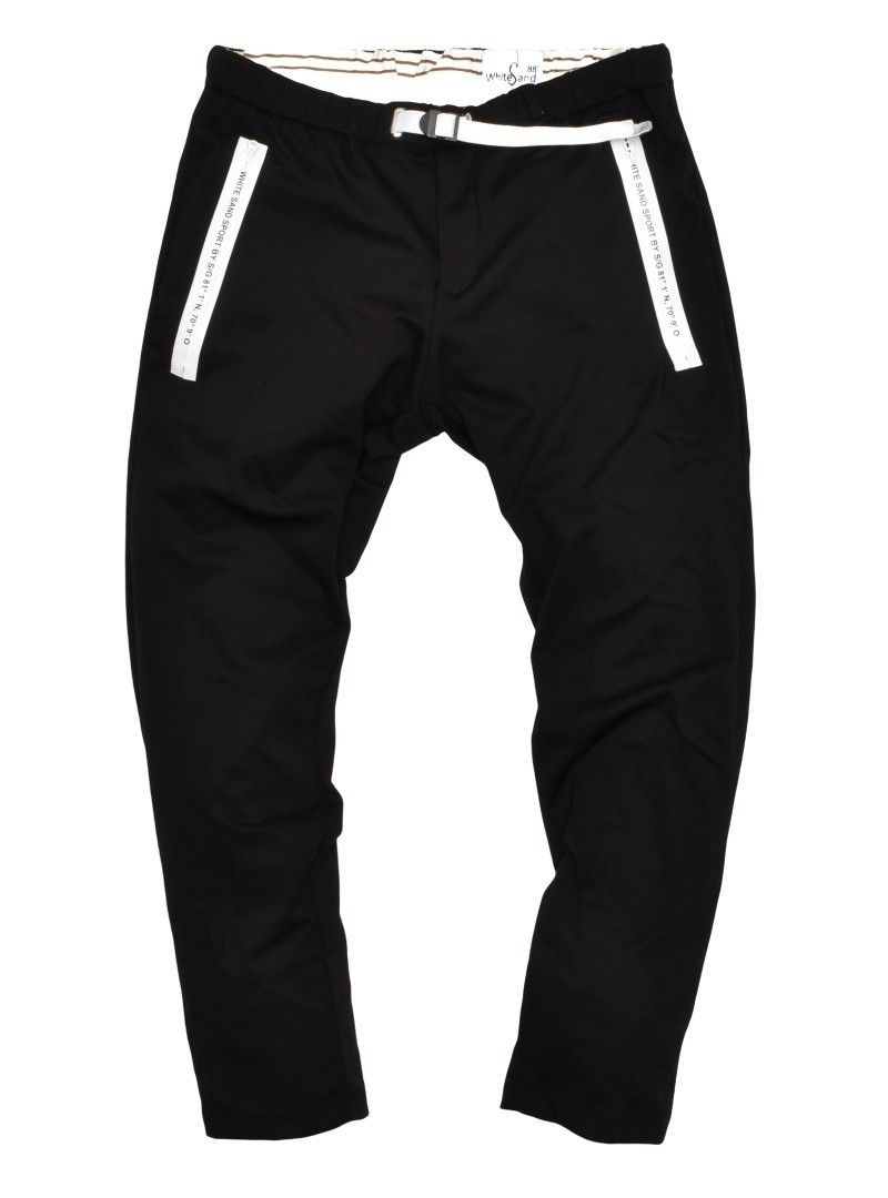 WHITE SAND - Herren Hose - Sport Long Trousers Greg - Black