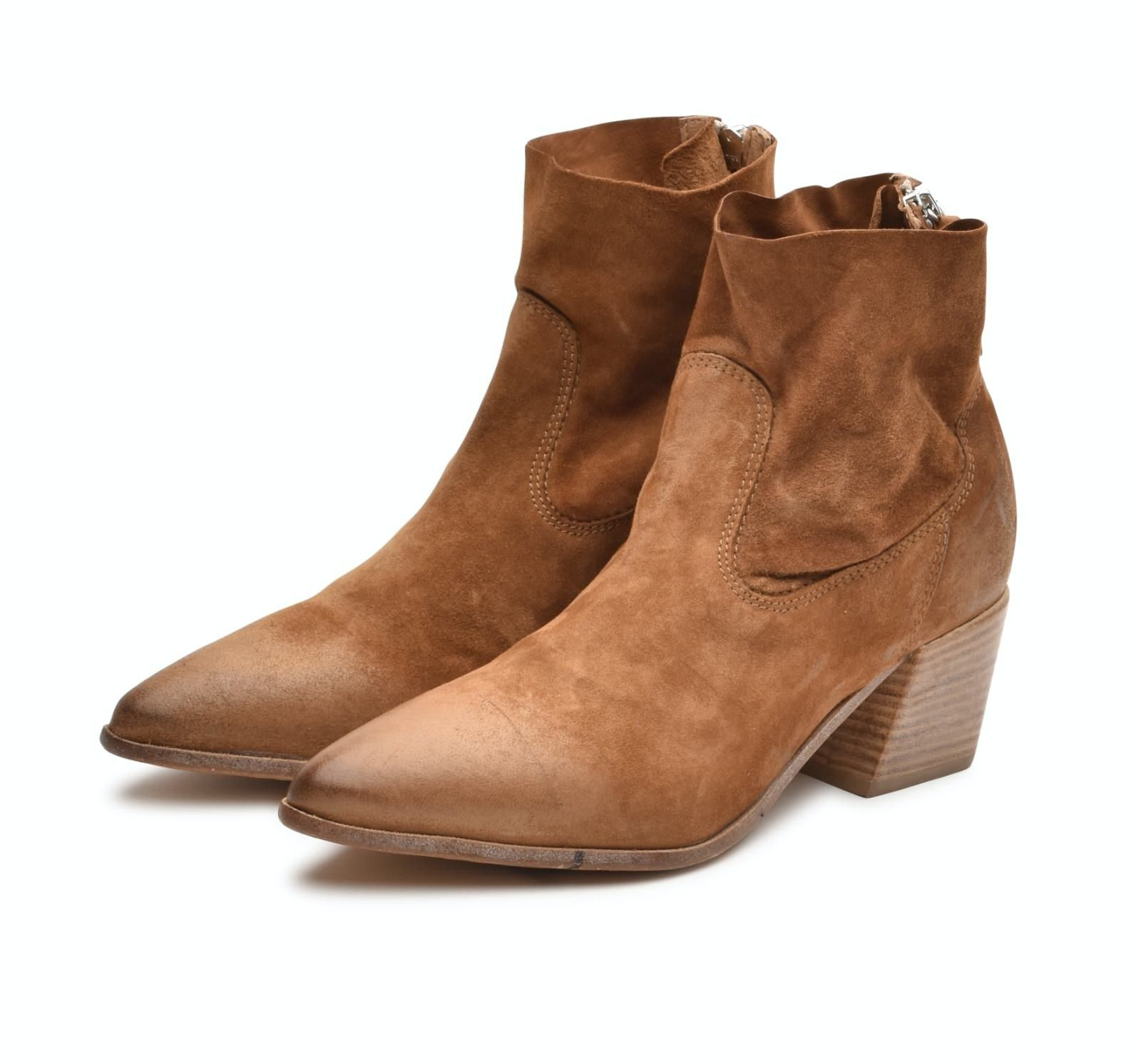 MOMA - Damen Stiefelette - City 694 - Marrone