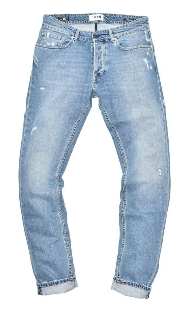 THE.NIM - Herren Jeans - Morrison Man Jeans Slim Tapered Fit - Light Repaired