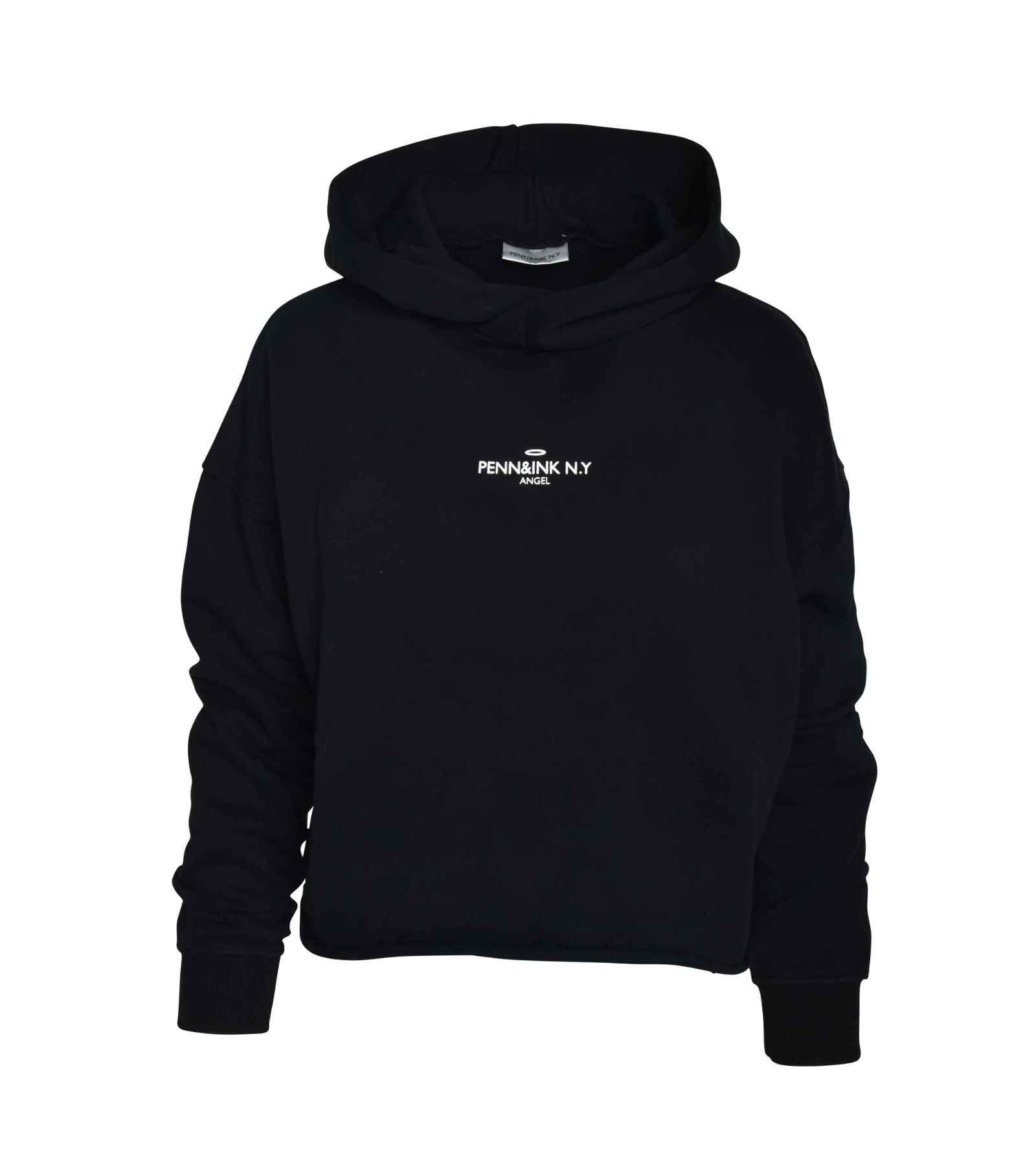 PENN&INK N.Y - Damen Sweater - Black/White