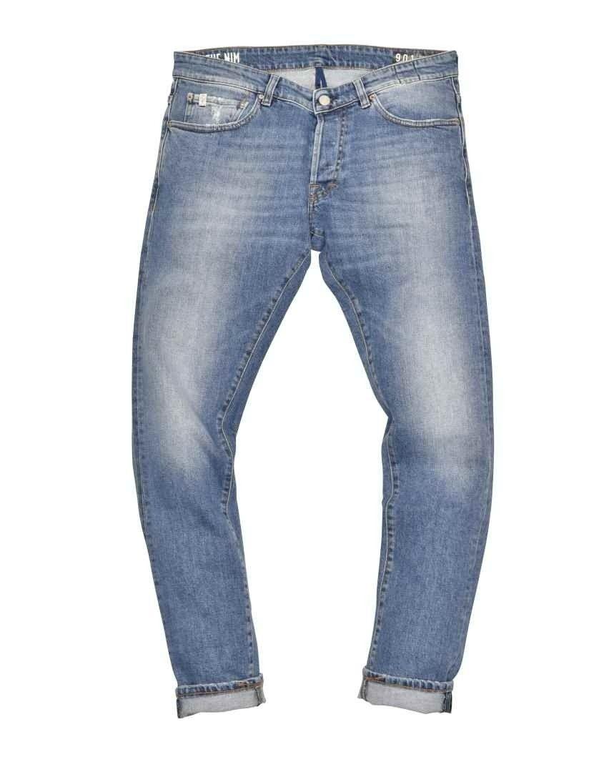 THE.NIM - Herren Jeans - Dylan Man Jeans Slim Fit - Medium Blue