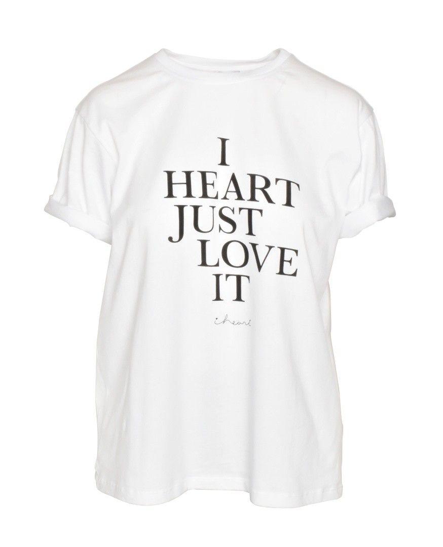 iHEART - Damen T-Shirt - Mackenzie - White