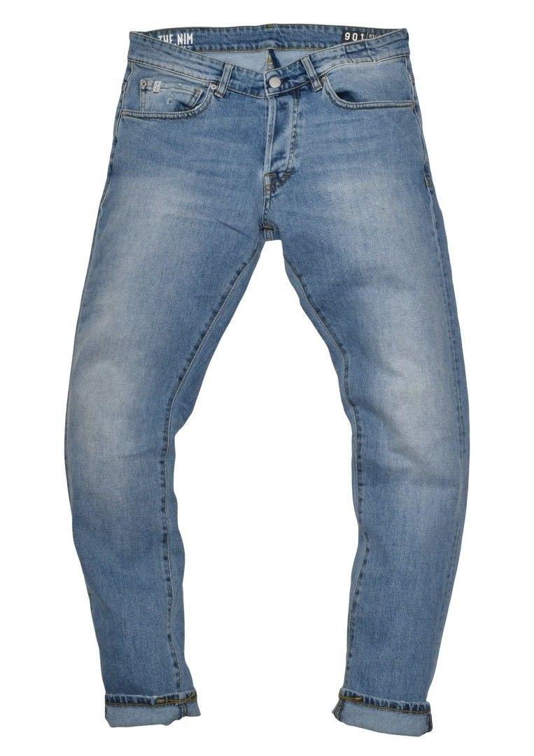 THE NIM - Herren Jeans - Dylan Slim Fit - Light Blue