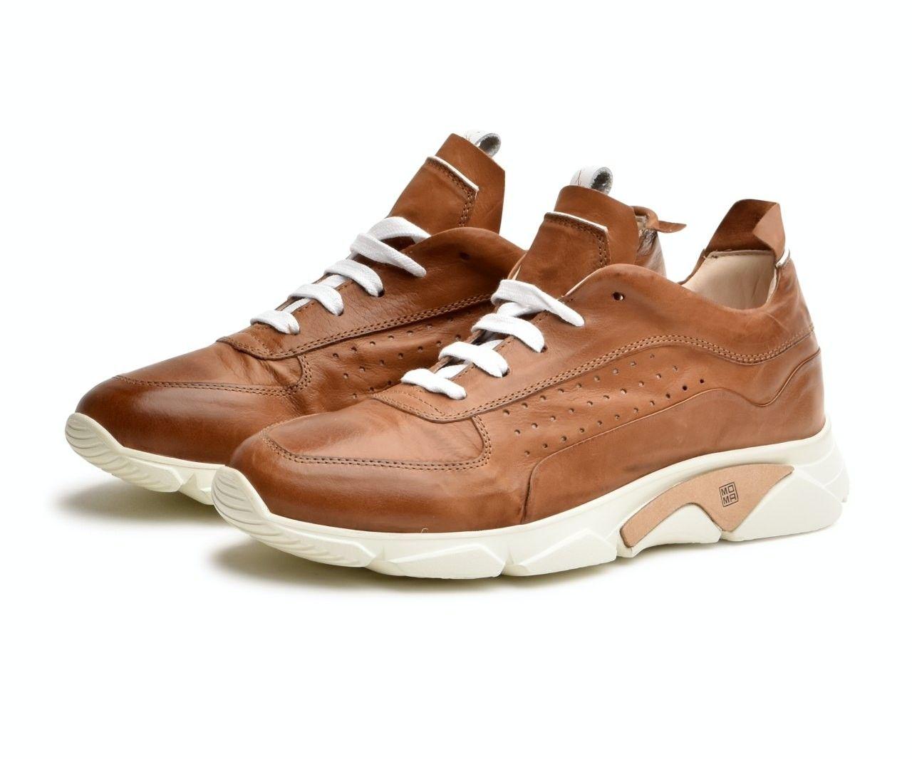 MOMA - Herren Sneaker - Allaciata Runner Sombrero - Cinnamon