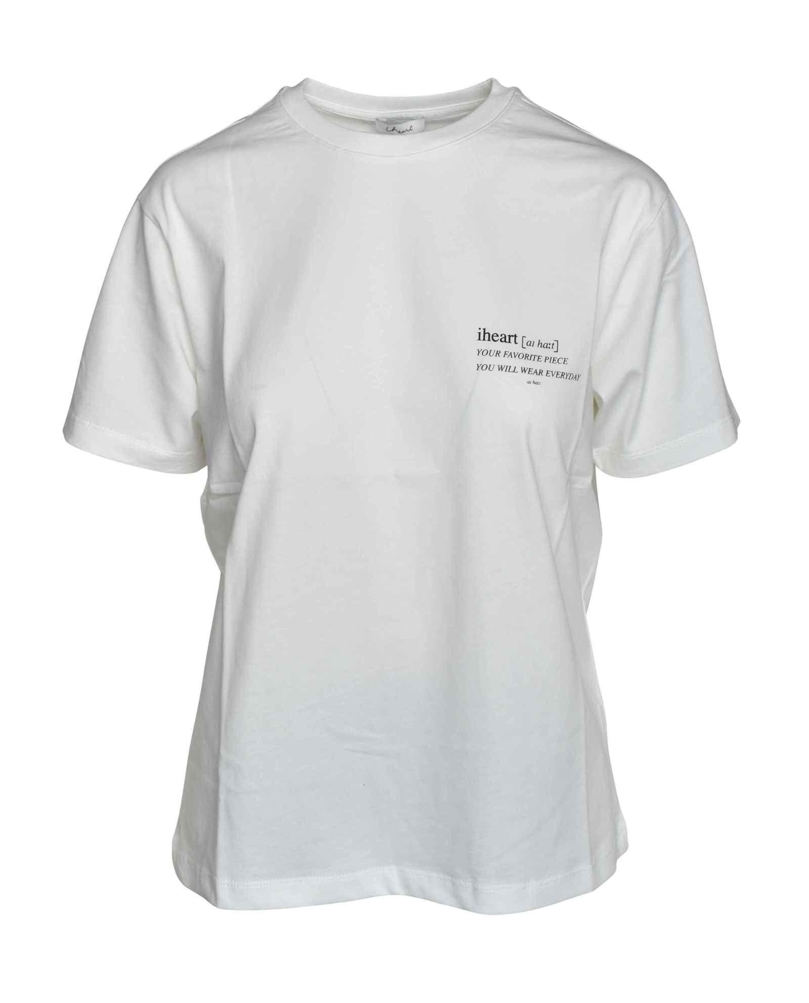 iHEART - Damen Shirt - Dannia - White