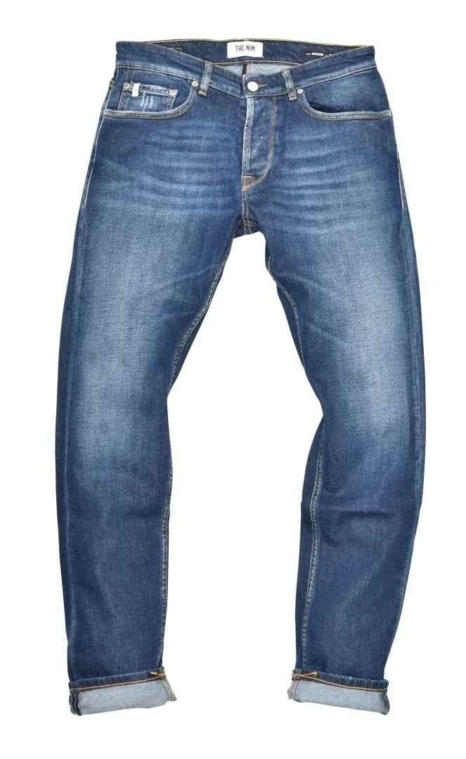 THE.NIM - Herren Jeans - Morrison Man Jeans Slim Tapered Fit - Dark Blue