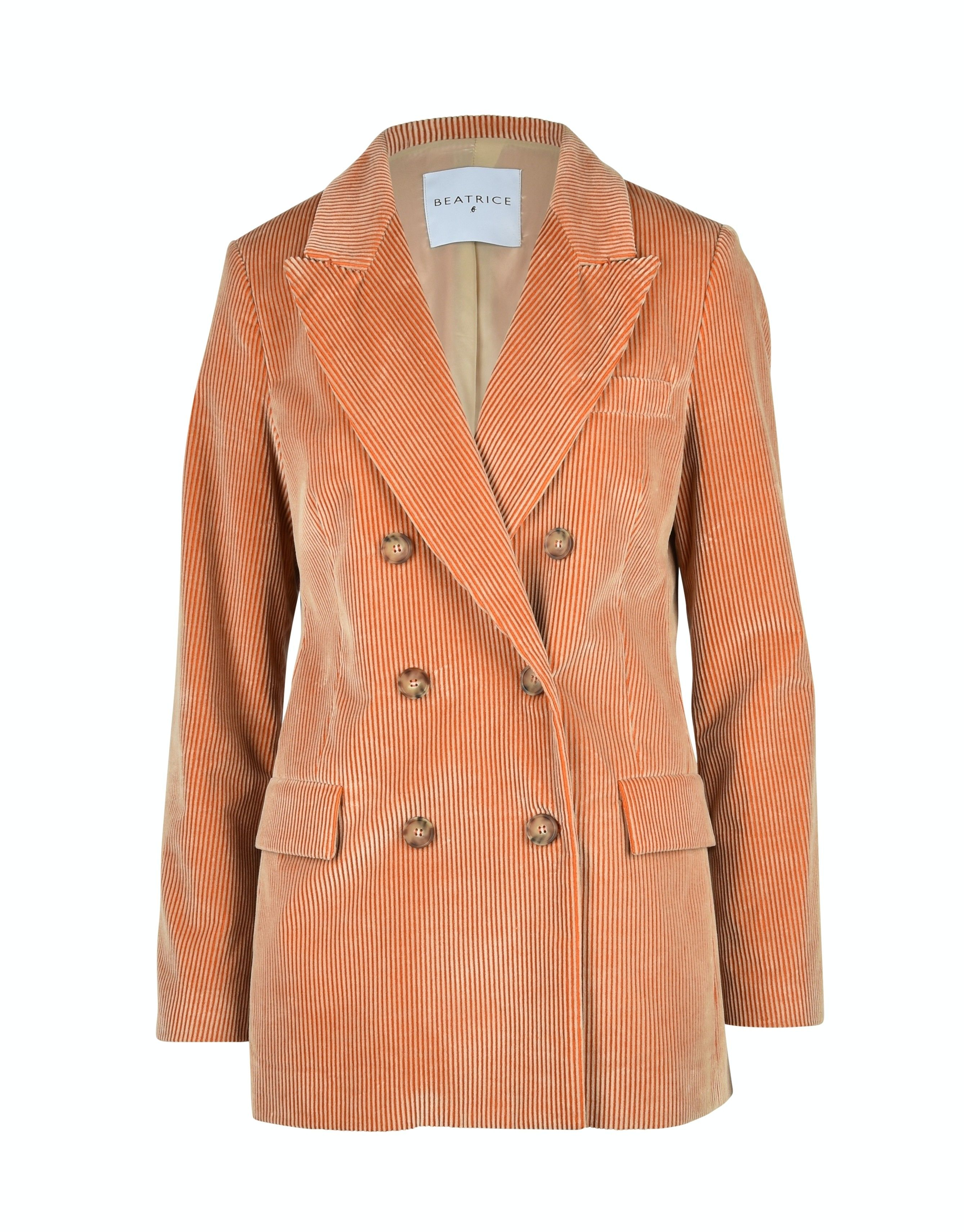 BEATRICE.B - Damen Blazer - 3808 Fabric 50787 B. - Orange/Sand